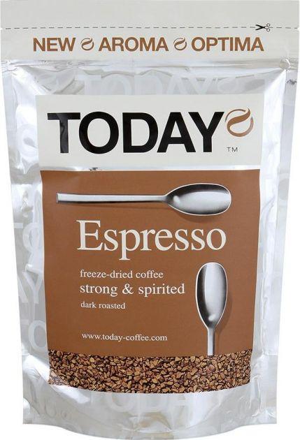 Кофе Today Espresso пакет 75г