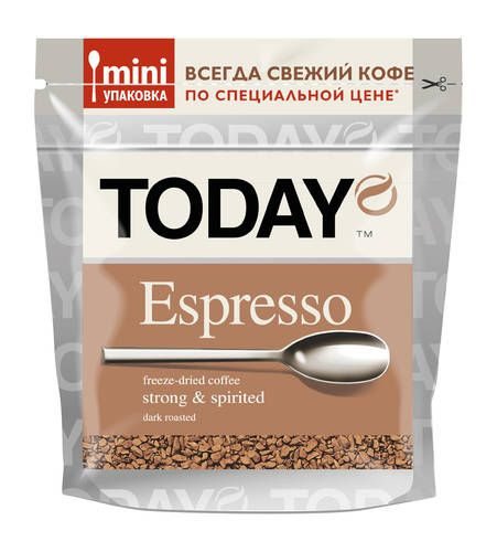 Кофе Today Espresso 37,5г
