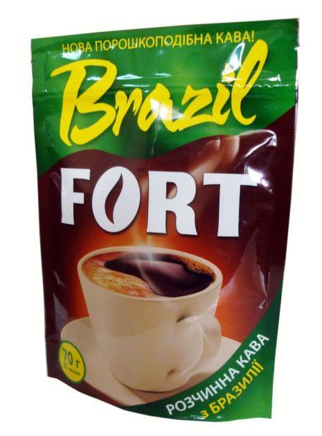 Кофе Fort Brazil раств. (пакет) 70г