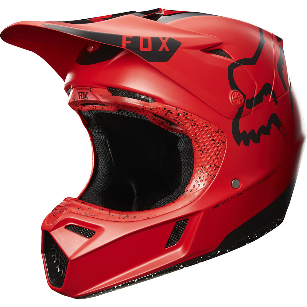 Fox - V3 Red Moth Limited Edition шлем
