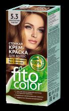 """Стойкая крем-краска для волос серии """"Fitocolor"""" тон золотистый каштан 115 мл"""