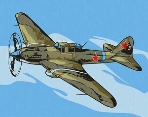 Картина по номерам Ил-2