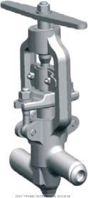 Клапан запорный 999-20-0 Ду20 Ру250