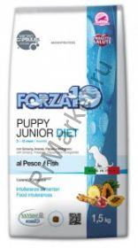 Forza10 (Форца10) Puppy junior Diet Pesce (корм для щенков всех пород и собак в период беременности и лактации, рыба) 1.5кг