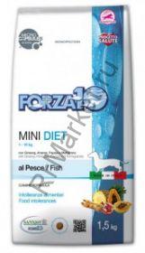 Forza10 (Форца10)  Mini Diet Pesce корм для собак мелких пород (рыба)