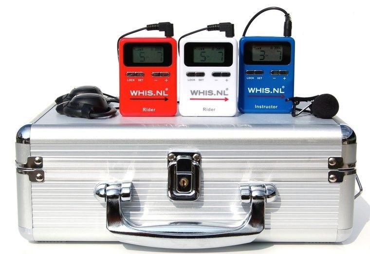 Рация Whis Competition набор из 1 передатчика и 2 приемников