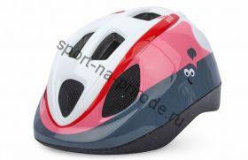 Велошлем Polisport Guppy pink/white