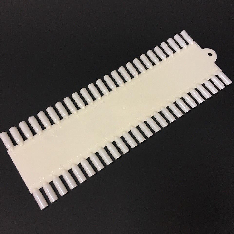Дисплей для лаков прямоугольный на 48 цветов (натуральный)