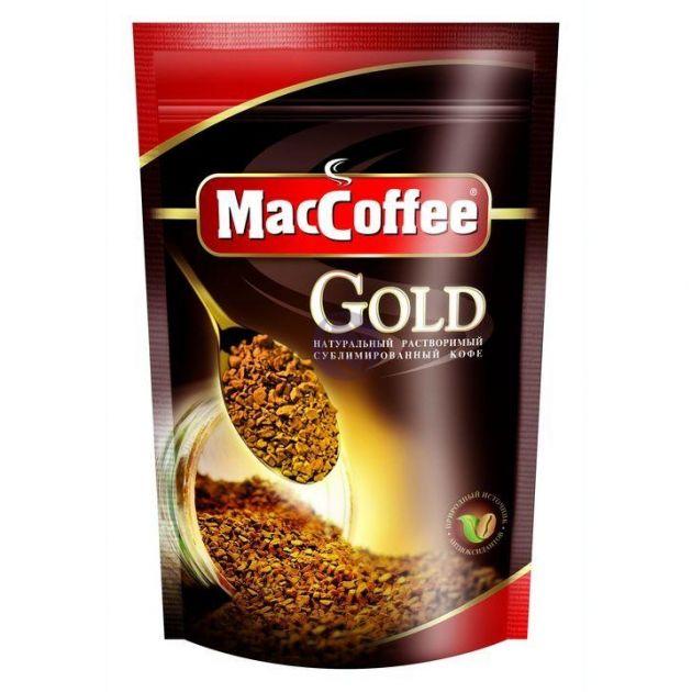 Кофе Мак Кофе Голд пакет 150гр