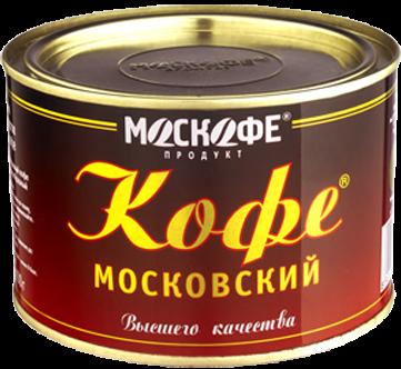 Кофе Московский гранул. ж/б 100г