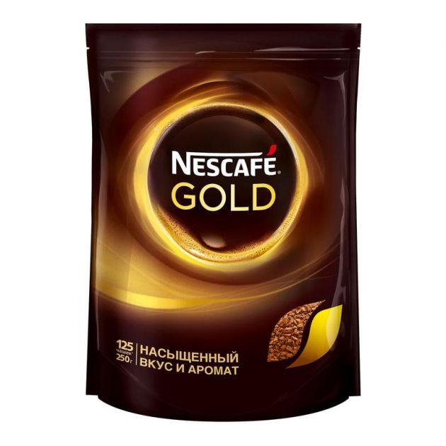 Кофе Нескафе Голд пакет 250г