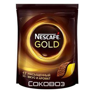 Кофе Нескафе Голд пакет 95г