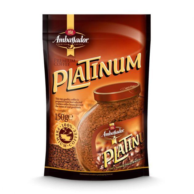 Кофе Платинум пакет 150г