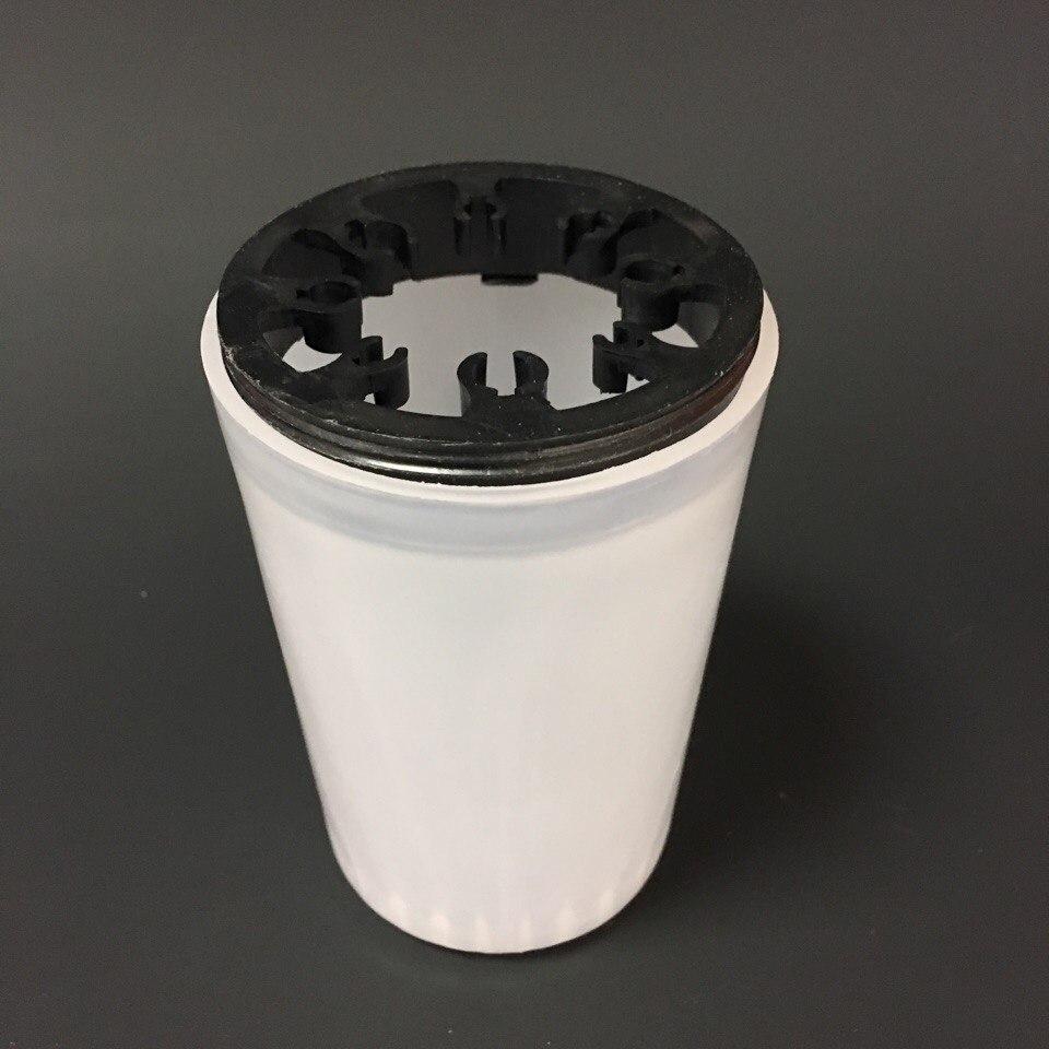 Стакан для мытья кистей с крышкой (пластик)