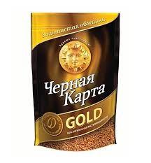 Кофе Черная Карта Голд раств. (пакет) 285г