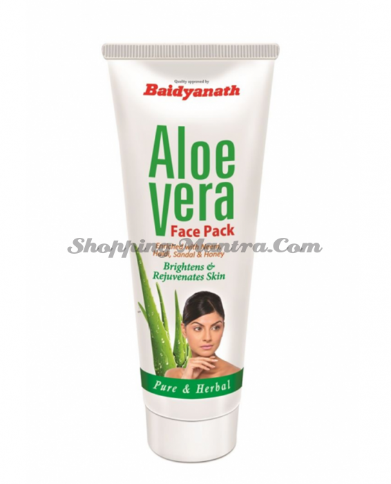 Маска для лица с Алоэ Вера Goodcare Pharma Aloe Vera Face Pack