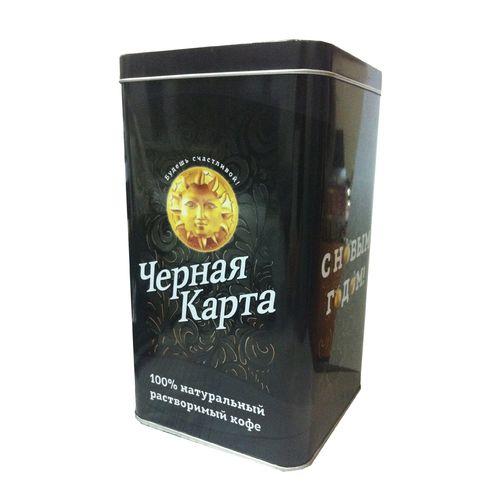 Кофе Черная Карта Голд раств. ж/б 150г