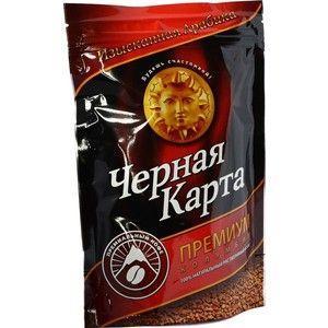 Кофе Черная Карта Премиум раств. (пакет) 75г