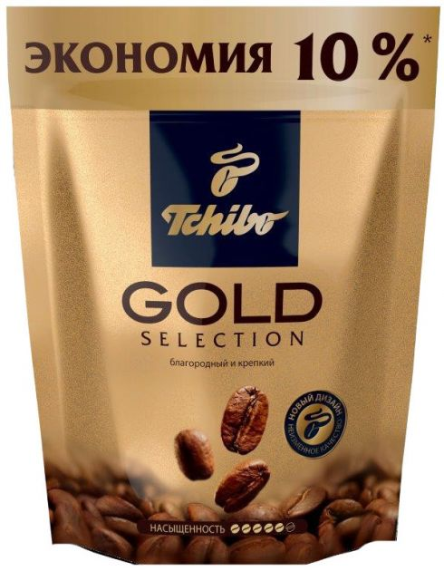 Кофе Чибо Gold Selection раст.пак. 75г