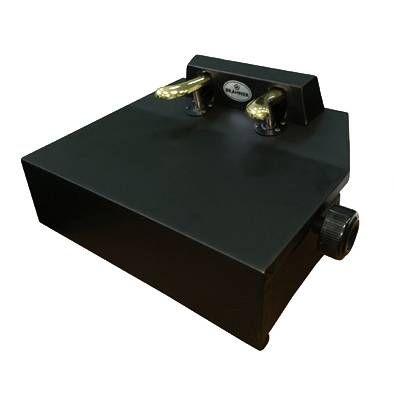 Подставка для пианиста BRAHNER PEX-2L/BK с 2-мя дублирующими педалями, с регулировкой высоты 140-165 мм., деревянное основание, отделка - кож.зам., цвет черный