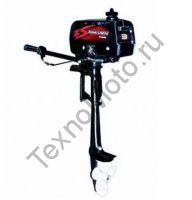 Zongshen T 3 BMS двухтактный подвесной лодочный мотор, аналог Yamaha, мощностью 3 л. с. texnomoto.ru