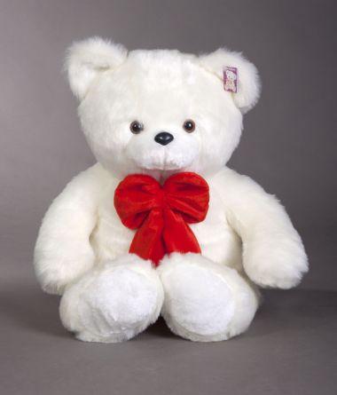 Плюшевый белый медведь 100см