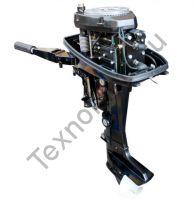 Zongshen T 9.9 BMS двухтактный подвесной лодочный мотор с двумя цилиндрами, мощность 9 л. с. texnomoto.ru