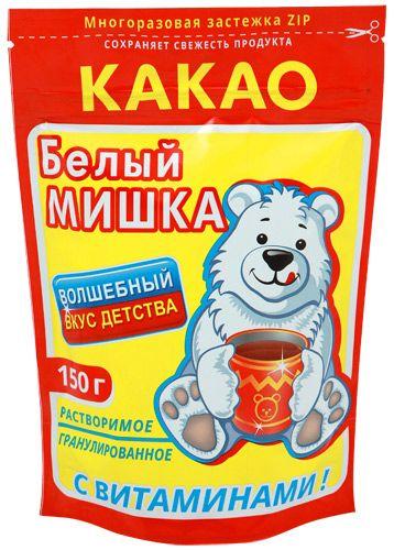 "Какао ""Белый Мишка"" 150г"