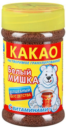 "Какао ""Белый Мишка"" ПЭТ 375г"
