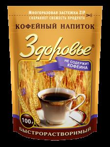 """Кофейный напиток """"Здоровье"""" 100г*24"""