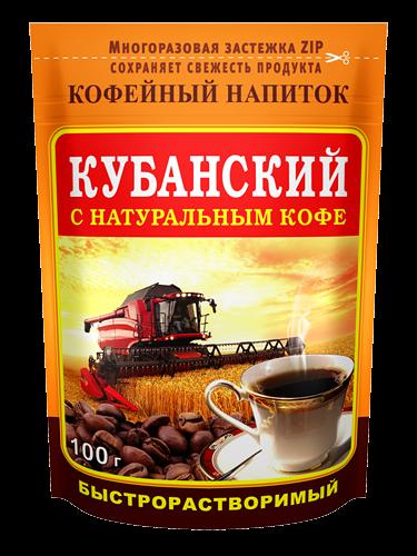 """Кофейный напиток """"Кубанский"""" 100г *24"""