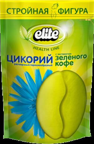 Цикорий Элит  с зеленым кофе 95г