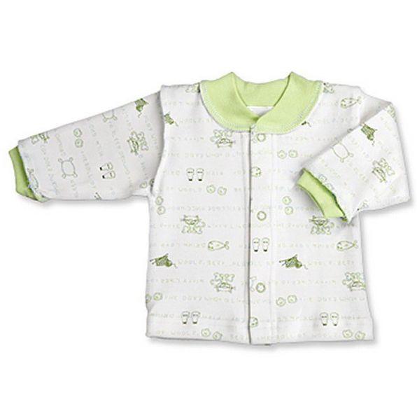 Хлопковая рубашка молочного цвета