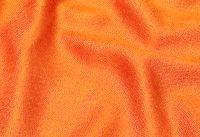Апельсиново оранжевый шарф палантин из натурального шелка с добавлением шерсти. Купить в Москве в интернет магазине