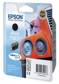 Картридж струйный Epson T0631 Black оригинальный