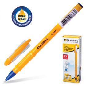 Ручка шар масляная синяя BRAUBERG Oil Sharp 0,5мм 141532