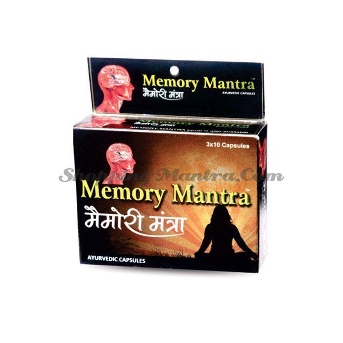 Мемори Мантра для мозга и нервной системы Дивиса | Divisa Herbal Memory Mantra Capsules