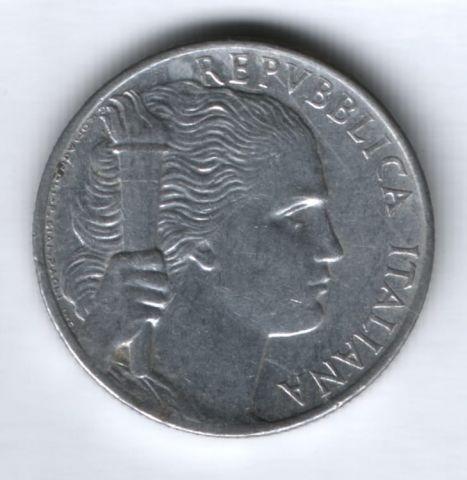5 лир 1949 г. Италия