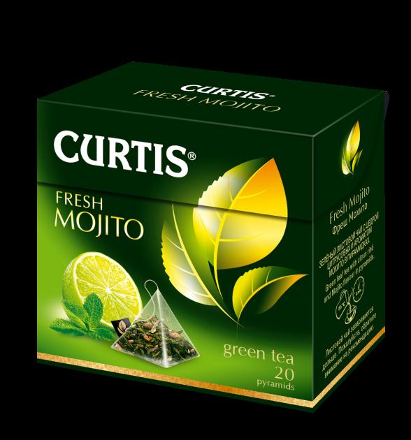 Чай Кертис Fresh Mojito пак. 1,7гр 20пак.конв (пирамидки)