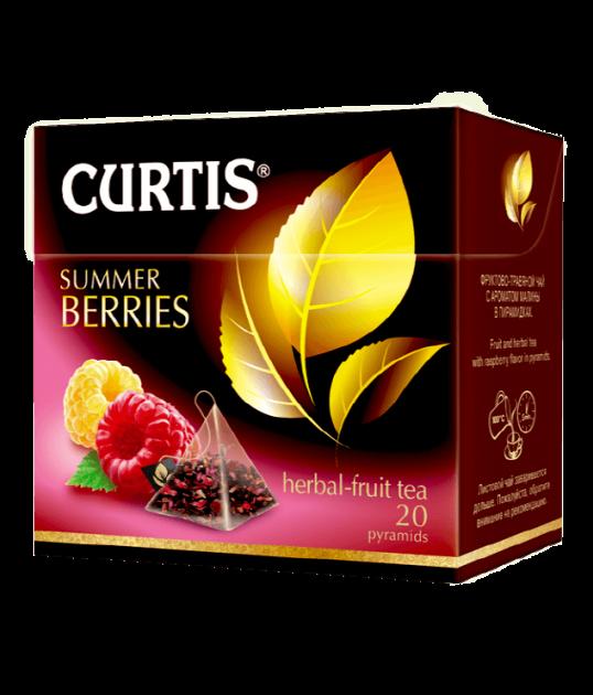 Чай Кертис Summer Berries пак. 1,7гр 20пак.конв (пирамидки)