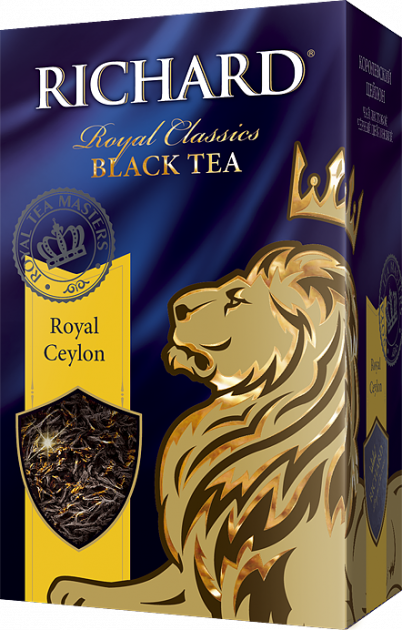 Чай Richard Royal Ceylon крупный лист 180гр