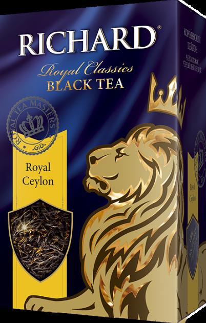 Чай Richard Royal Ceylon крупный лист 180гр