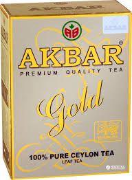 Чай Акбар  Голд 250г