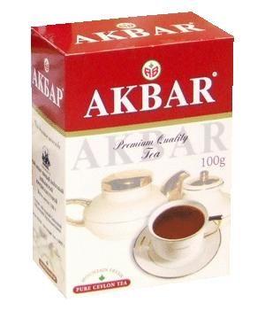 Чай Акбар красн./белый крупн.лист 100г