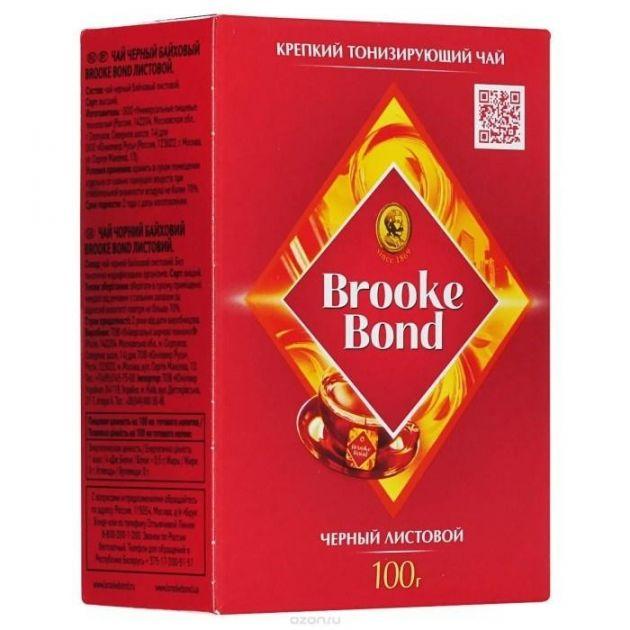 Чай Брук Бонд лист 100г