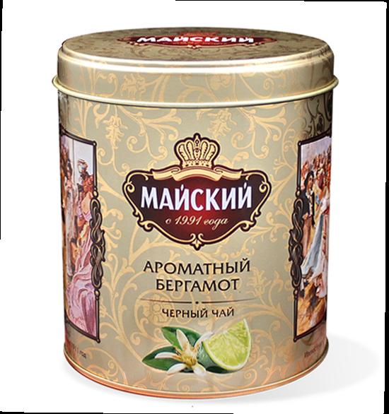 Чай Майский Ароматный Бергамот ж/б 90гр