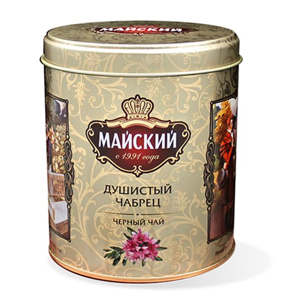 Чай Майский Душистый Чабрец ж/б 90гр