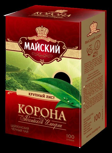 Чай Майский Корона Российской Империи 100г