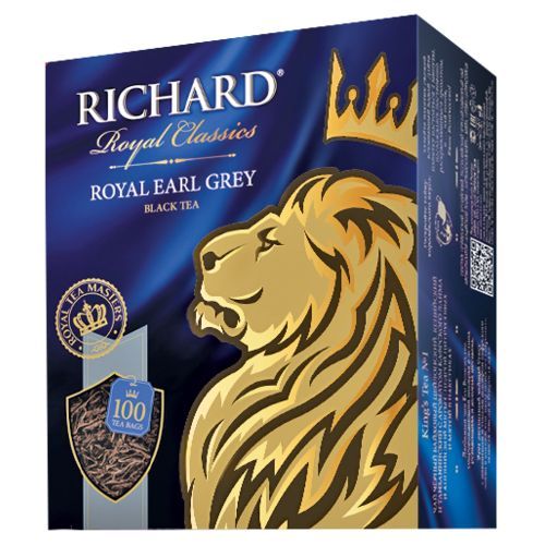 Чай Richard Royal Earl Grey 2гр 100пак.