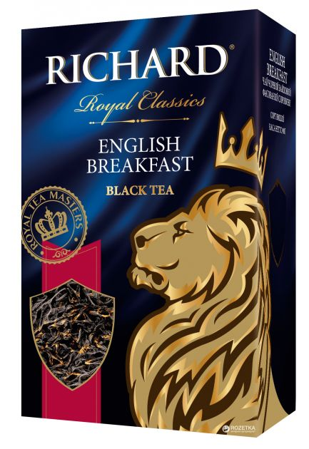 Чай Richard Royal English Breakfast 2гр 100 пак.конв